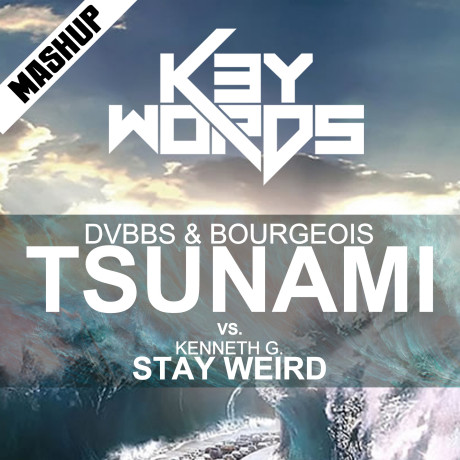 DVBBS & Bourgeois vs. Kenneth G. – Tsunami Stay Weird (k3ywords mashup preview 2013) [FREE DOWNLOAD]